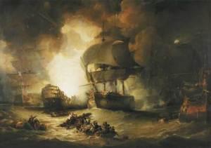 Η συντριβή του Γαλλικού στόλου απο τον βρετανό Ναύαρχο Νέλσον(http://www.britishbattles.com/waterloo/battle-nile.htm)